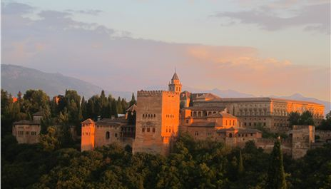 Granada, Alhambra and the Arabs