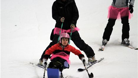 Celebs sign up for charity Skiathon
