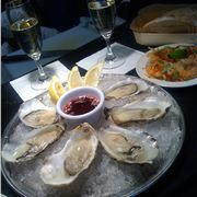 Oysters %26#38%3B Champagne At Rick Stein's