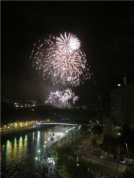 Firework Spectacular Over The River