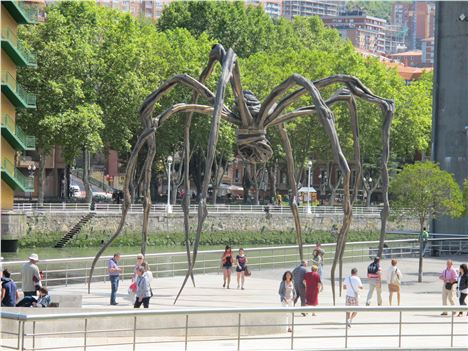 Louise Bourgeois' Spider Outside The Guggenheim