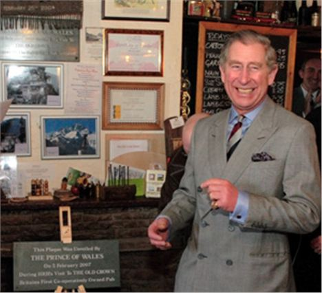 Prince Charles Enjoying The Crown