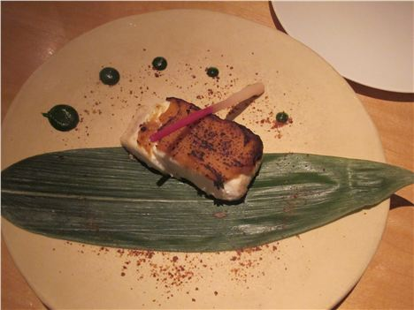 Minimalist Halibut At Emiko, Astonishing Delicacy