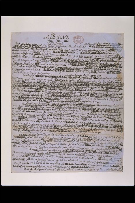62. Dickens's Manuscript For Bleak House C V%26#38%3BA Images And Victoria And Albert Museum