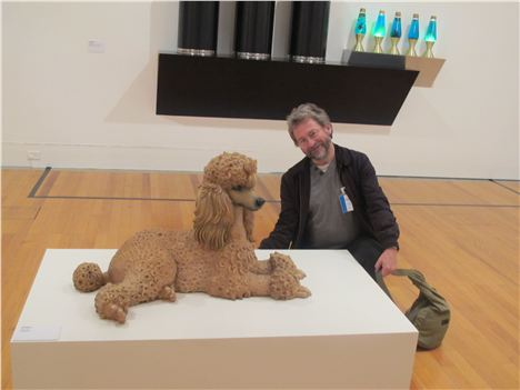 I Meet A Poodle %28Left%29 In The Amazing Berardo Collection