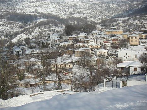 Pelion In The Winter