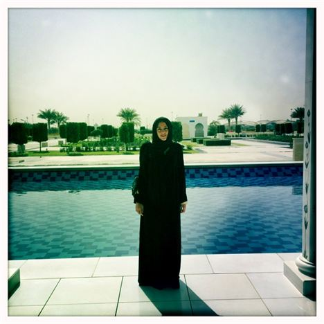 Women must wear an 'abaya' at all times in the Grand Mosque