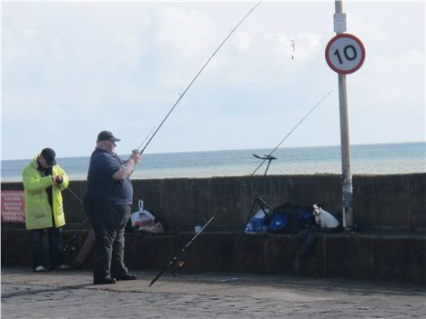 Little And Large Casting Off In Bridlington