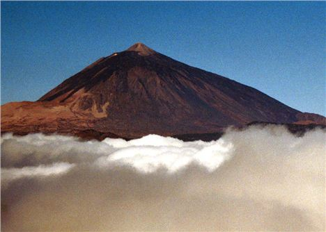 Mount Teide Above The Clouds