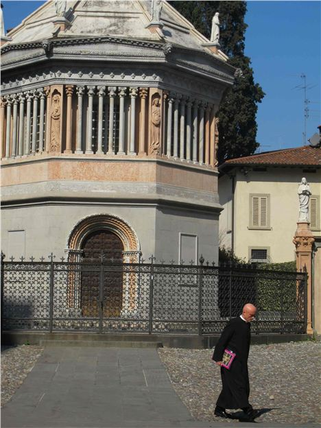 Priest On A Mission, Bergamo