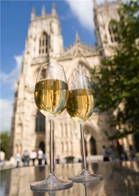 Glasses_Of_Wine_On_A_Table_Outside_York_Minster_In_York