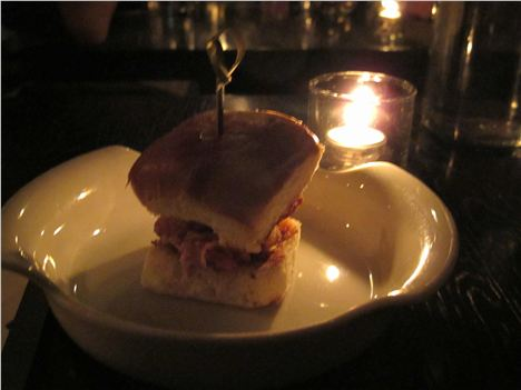 Oyster Po'boy Slider At Gt