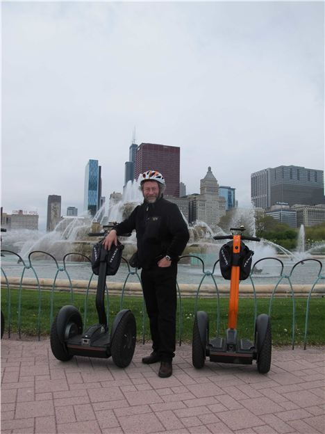 The Author With His Segway %28Glad To Be Taking A Rasin Check%29