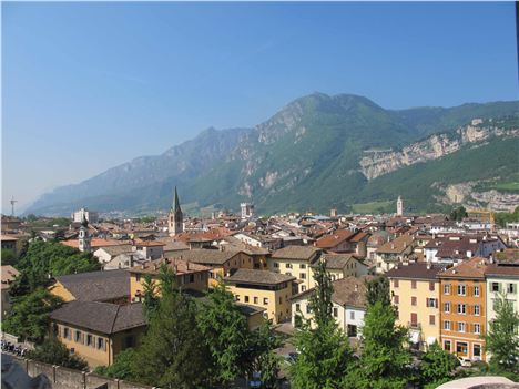 Trentino Is Surrounded By Mountains