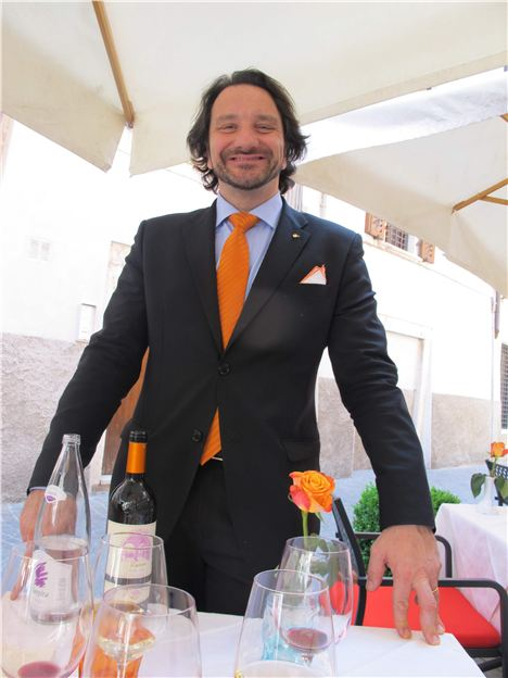 Nio, Co-Owner Of Le Tre Garofani