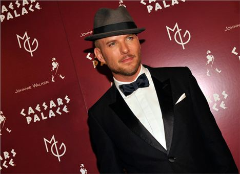 Matt Goss At Caesars Palace