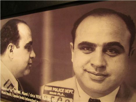 A Smiling Al Capone At The Mob Museum