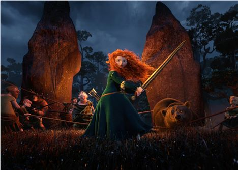 Brave %26#8211%3B Family Animation From Disney:Pixar