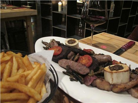 Mixed Grill At Steak
