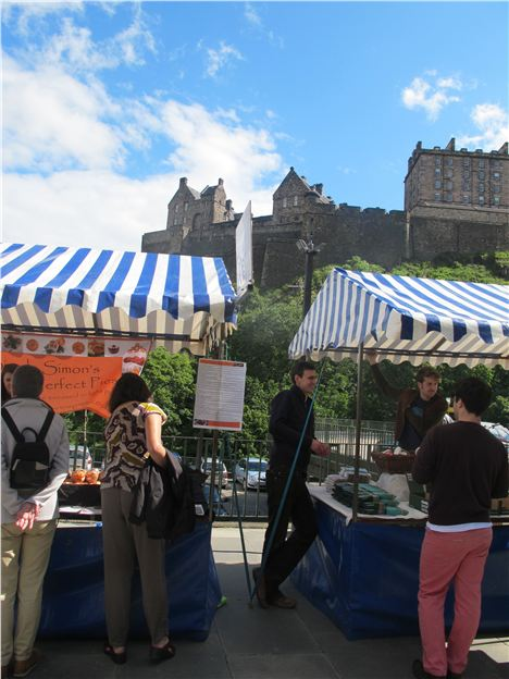 Farmers' Market, Castle Terrace