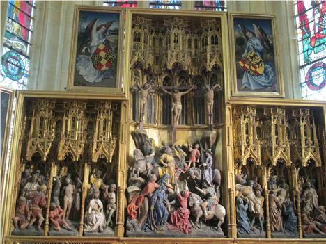 Spectacular Altar-Piece At Ambierle