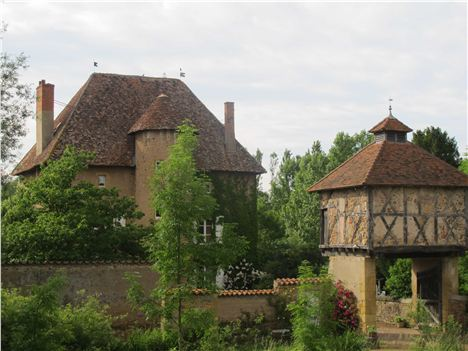Chateau De Tigny And Its Pigeonnier
