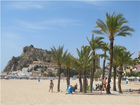The Quieter Poniente Beach