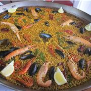 Paella At Barranca Playa