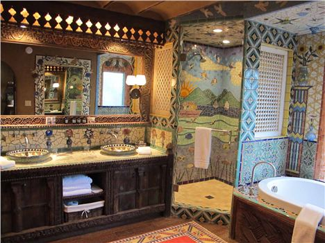 Our Bathroom At The Inn Of The Five Graces