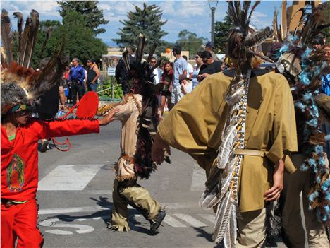 Young Warriors In The Taos Parade