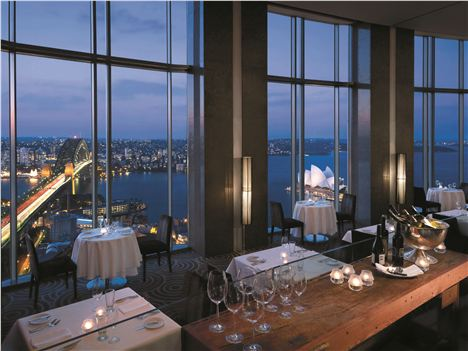 Shangri-La Hotel Restaurant Has Tremendous Harbour Views