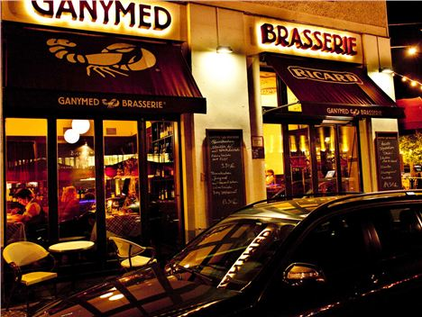 Ganymed Brasserie, Berlin