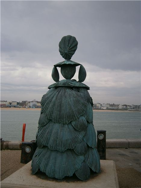Statue Of Mrs Booth