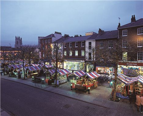 A Christmas Market In York