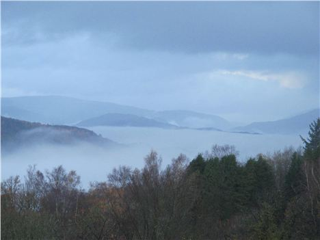 Above The Clouds That Cloak Windermere