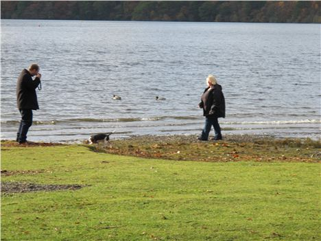 Photo-Opportunity %28Not Just Us!%29 Near Friar's Crag, Derwentwater