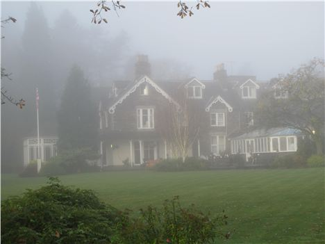 Early Morning Mist At The Wordsworth