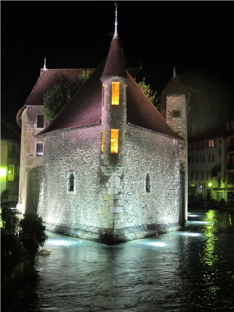 Historic Annecy By Night