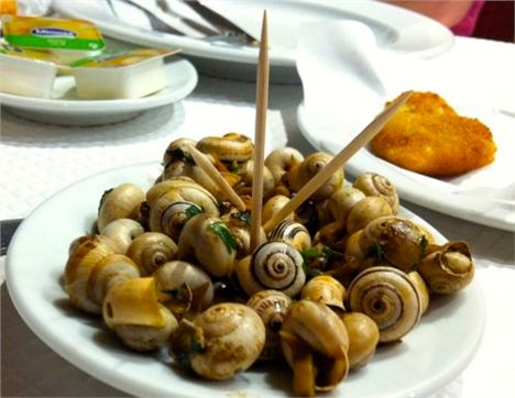 Snails Are A Popular Bar Snack In Lisbon