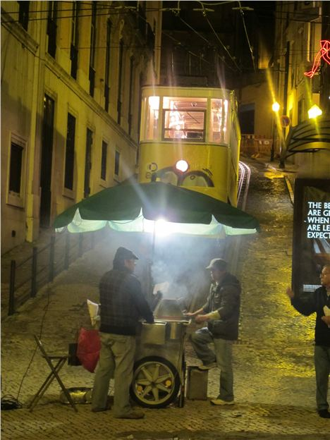 Roast Chestnuts %26#8211%3B Lisbon Street Food