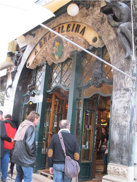 Brasileira Cafe On Largo Do Chiado