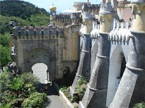 Sintra, The Pena Palace Gateway