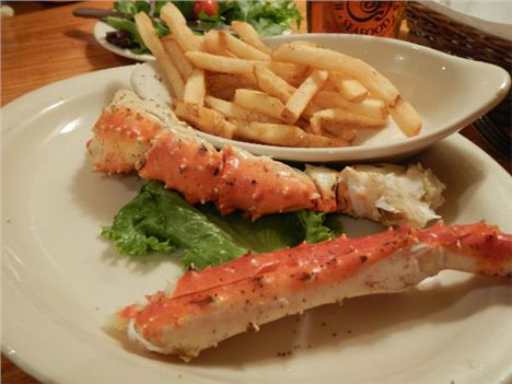 Legging It . . . King Crab Legs At Barnacle Bill's On Sarasota's Tamiami Trail
