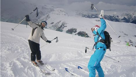 Banishing Those Ski Wobbles In The French Alps