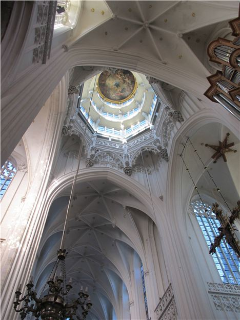 Soaring Cathedral Interior