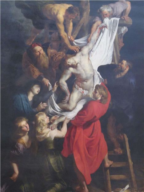 Rubens' Wonderful Descent From The Cross