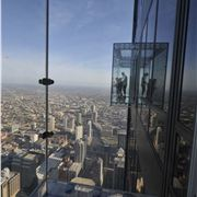 Skydeck At The Willis Tower, Chicago