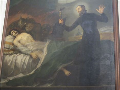 Goya In Valencia Cathedral