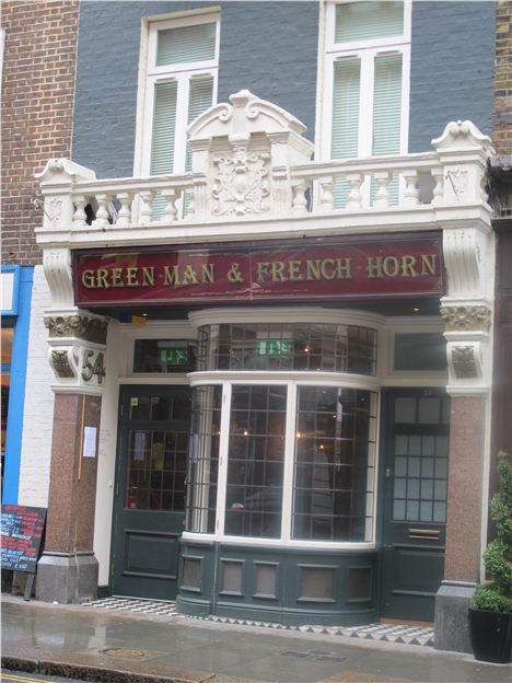Green Man %26#38%3B French Horn