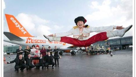 easyJet launches flights between Manchester and Moscow